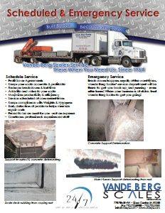 Emergency Scale Service Brochure