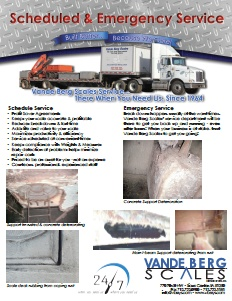 Emergency Truck Scale Service Brochure