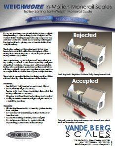 Trolley Sorting Monorail Brochure