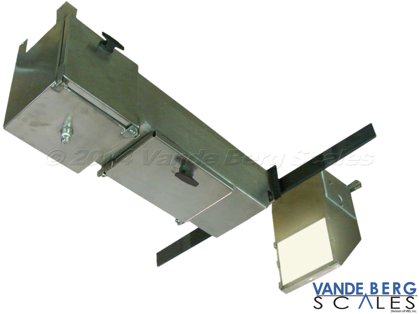 Trolley Vision system with back-light and camera. Watertight access panel ensures ease of maintenance access.