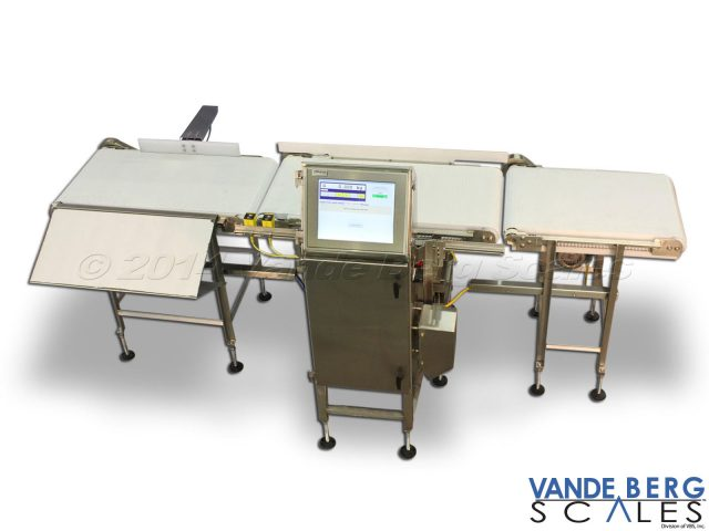 In Motion Checkweigher with infeed conveyor