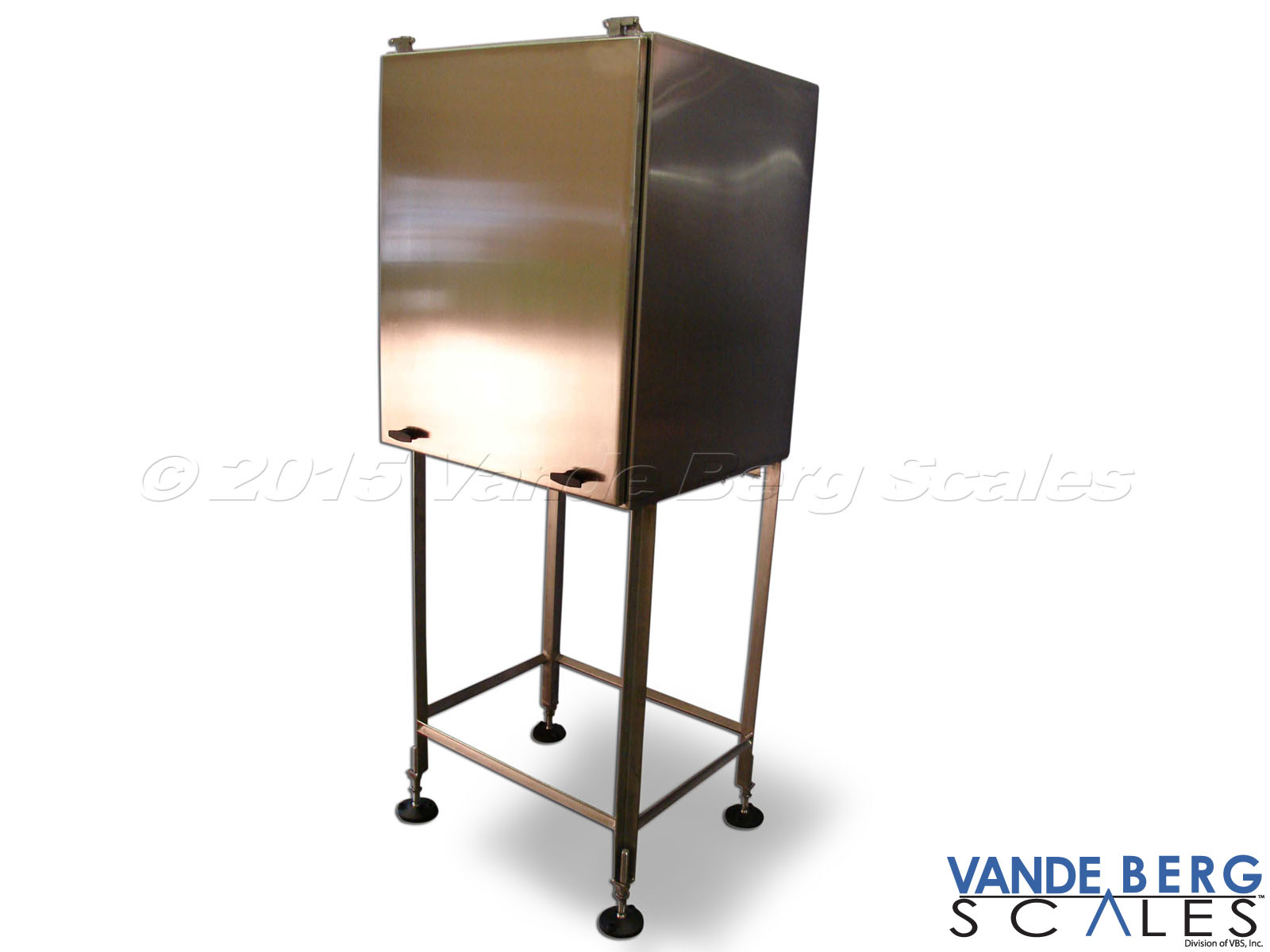 Stainless steel stand with NEMA-4X washdown enclosure