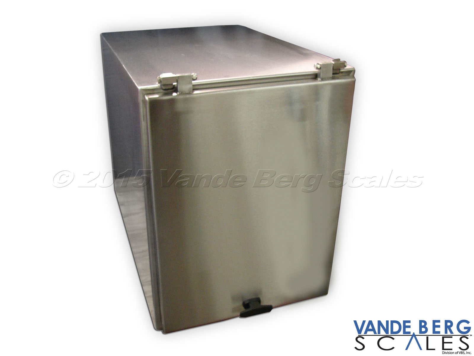 Stainless Steel Printer Enclosure - Door swings 270-degrees ensuring it is out of the way during use.