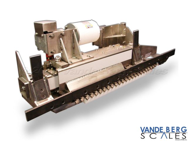 Stainless powered chain in-motion monorail design.