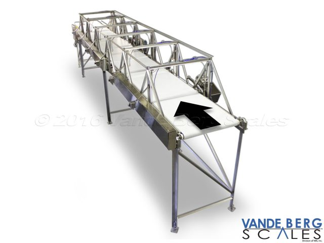 Loin sortation system with pop-up conveyor diverts