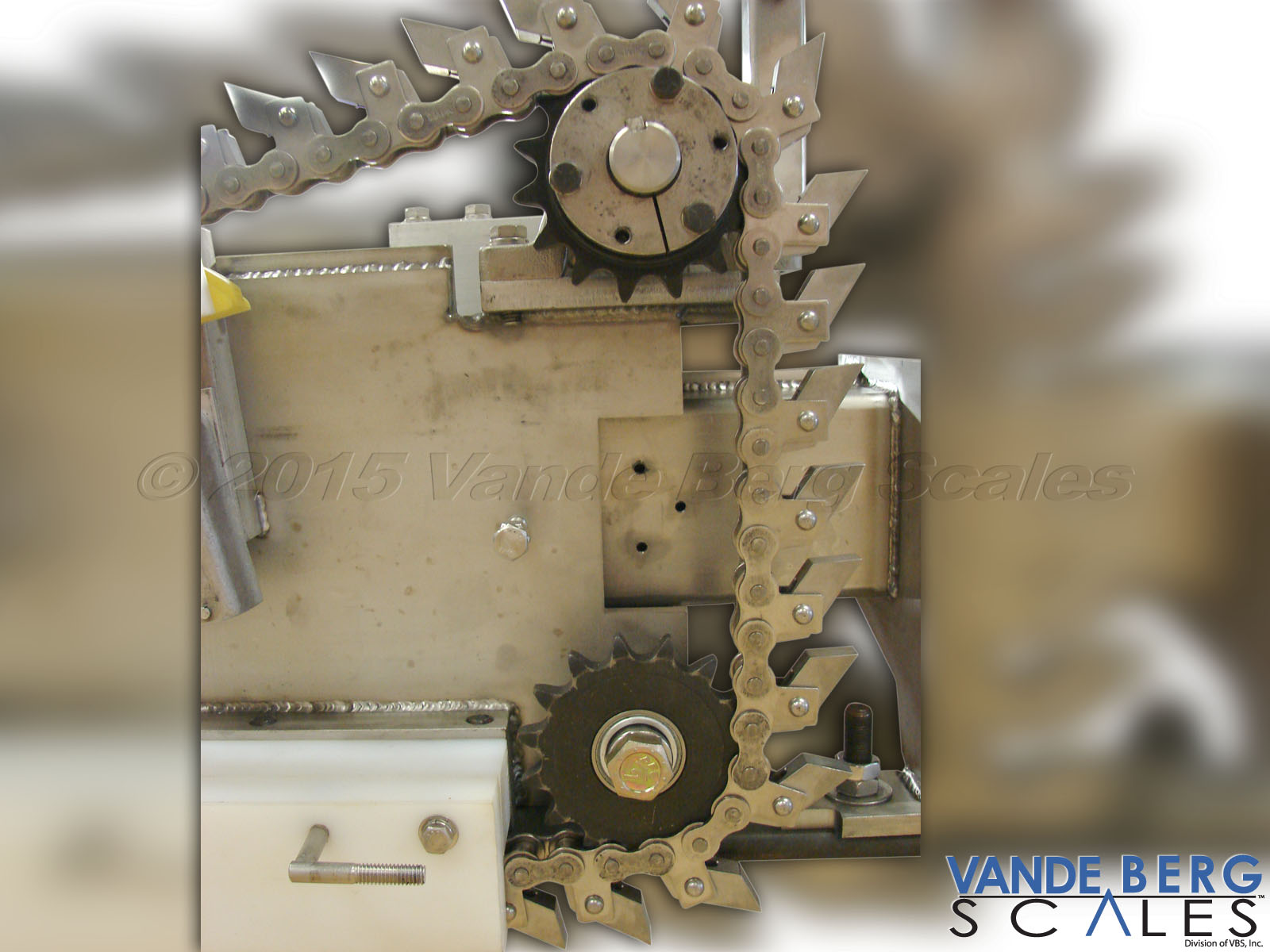 Simple direct gear box drive ensures simplicity and longevity