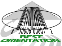best orientation for barcodes