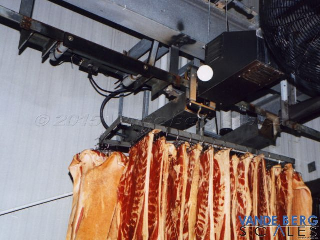 Pork Bellies in a smokehouse tracking application.