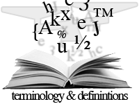 weighing definitions & terminology