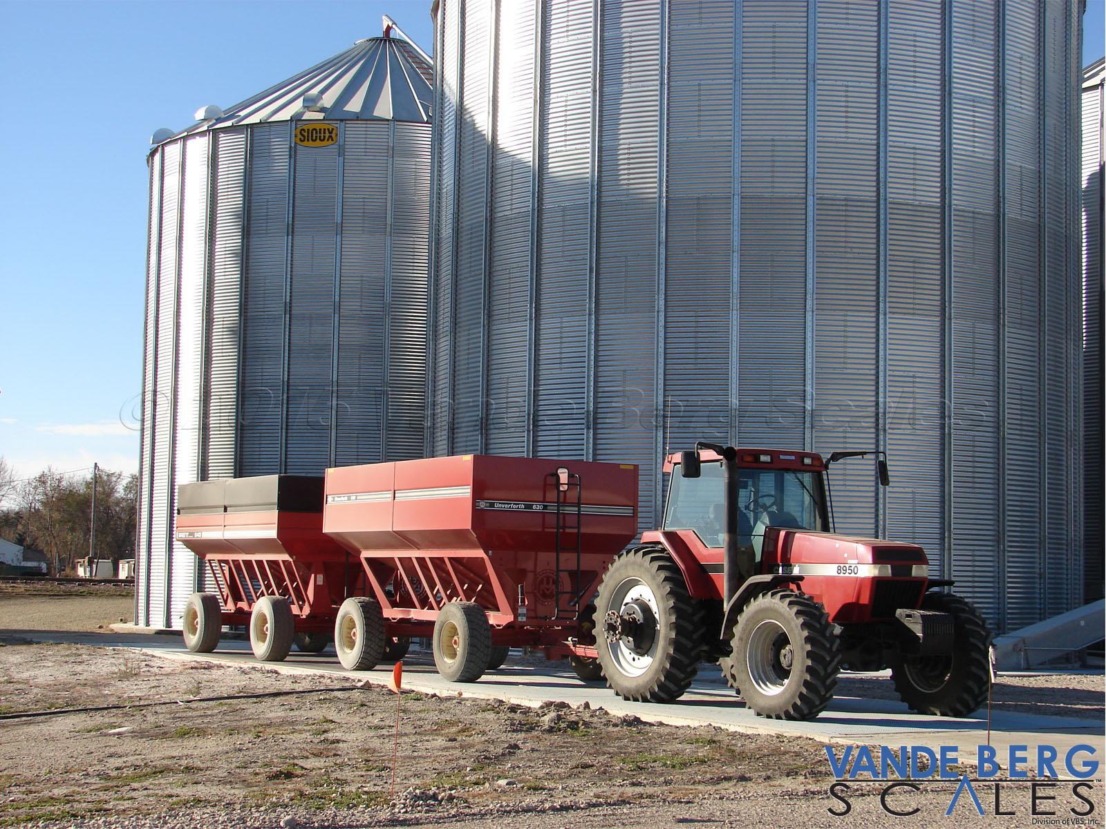 Grain-Tractor-Wagons