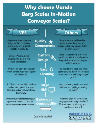 Why Choose VBS Conveyor Scales