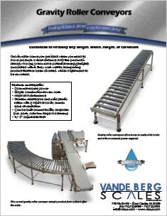 Gravity Roller Conveyors PDF Brochure