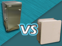 stainless vs plastic enclosures
