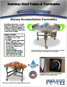 Rotary Turntables PDF Brochure