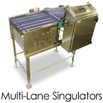 Multi-Lane Singulators